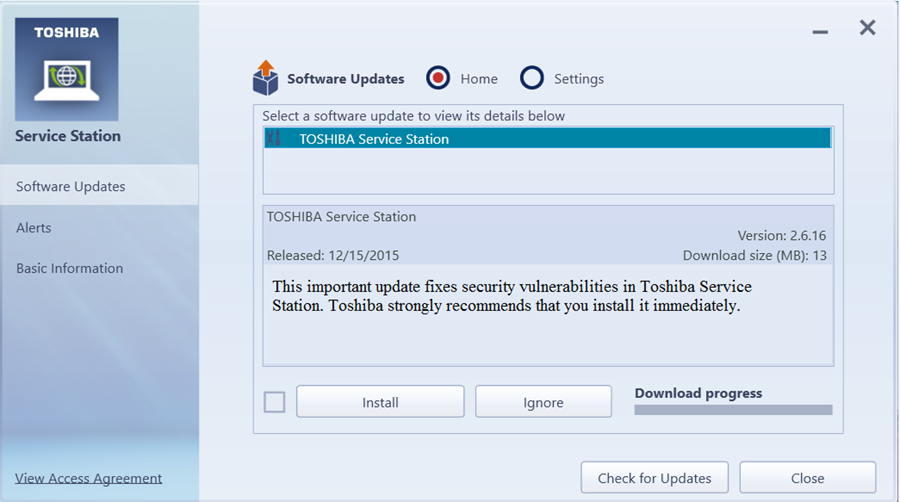 how to update firmware on toshiba tv 40l1333db